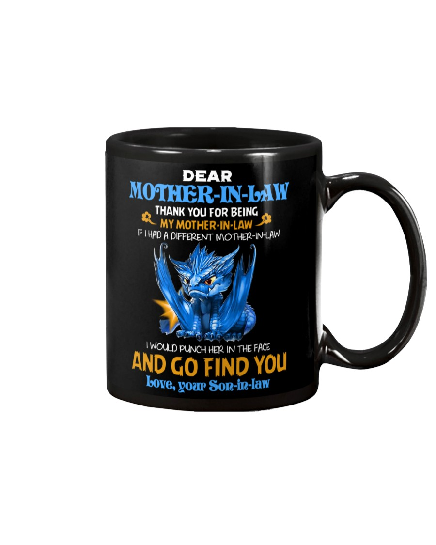 TO MY MOTHER-IN-LAW - DRAGON - THANK YOU Mug