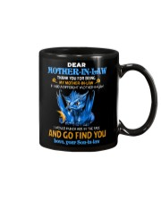 TO MY MOTHER-IN-LAW - DRAGON - THANK YOU Mug front