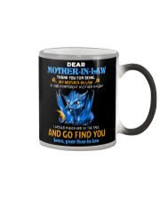 TO MY MOTHER-IN-LAW - DRAGON - THANK YOU Color Changing Mug thumbnail