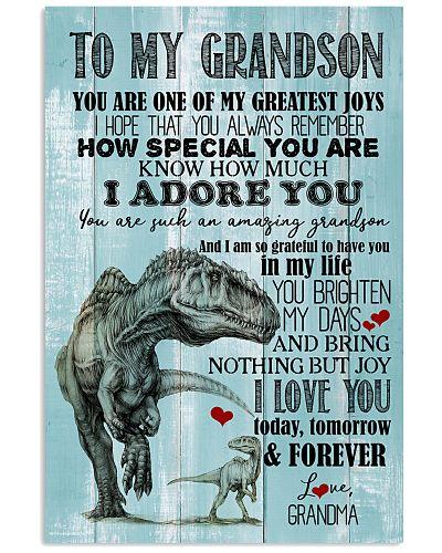 GRANDMA TO MY GRANDSON - DINO - YOU ARE ONE
