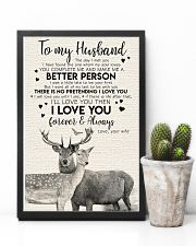 POSTER - TO MY HUSBAND - DEER - THE DAY I MET YOU 16x24 Poster lifestyle-poster-8
