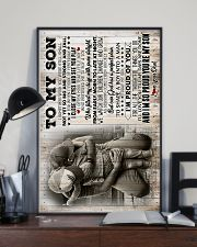 To My Son - I Sometimes Wish You Were Still Small 16x24 Poster lifestyle-poster-2