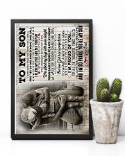 To My Son - I Sometimes Wish You Were Still Small 16x24 Poster lifestyle-poster-8
