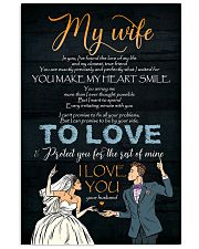 To My Wife - In You I've Found The Love Of My 16x24 Poster front
