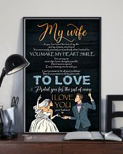 To My Wife - In You I've Found The Love Of My 16x24 Poster lifestyle-poster-2