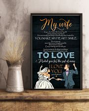 To My Wife - In You I've Found The Love Of My 16x24 Poster lifestyle-poster-3