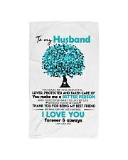 TO MY HUSBAND Hand Towel thumbnail