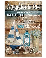 DAUGHTER-IN-LAW - VINTAGE - YOU VOLUNTEERED 16x24 Poster front