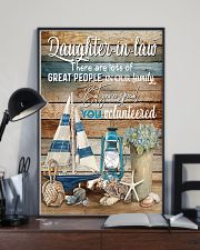 DAUGHTER-IN-LAW - VINTAGE - YOU VOLUNTEERED 16x24 Poster lifestyle-poster-2