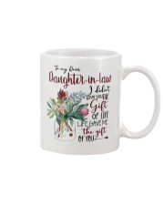 MOM TO DAUGHTER IN LAW Mug tile