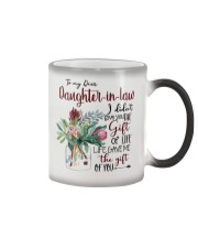 MOM TO DAUGHTER IN LAW Color Changing Mug tile