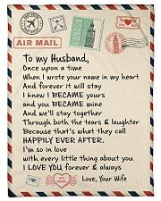 """Gifts for Husband - Fleece Blanket  Small Fleece Blanket - 30"""" x 40"""" front"""