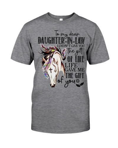 DAUGHTER-IN-LAW - HORSE - GOD - GIFT OF LIFE