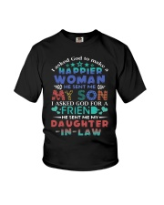 T-SHIRT - MY DAUGHTER-IN-LAW - VINTAGE - A FRIEND Youth T-Shirt thumbnail