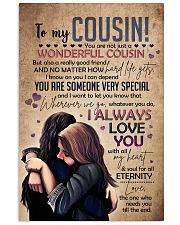 SISTER TO COUSIN 16x24 Poster front