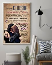 SISTER TO COUSIN 16x24 Poster lifestyle-poster-1