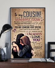 SISTER TO COUSIN 16x24 Poster lifestyle-poster-2