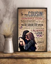SISTER TO COUSIN 16x24 Poster lifestyle-poster-3