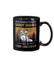 TO DAD - T REX - IN A WORLD FULL OF DADDY SHARKS Mug thumbnail