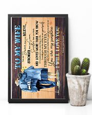To Wife - Grow Old Together - You Are Braver Than 16x24 Poster lifestyle-poster-8