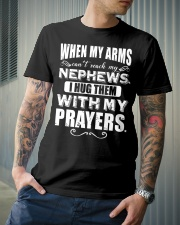When my arms can't reach my nephews Classic T-Shirt lifestyle-mens-crewneck-front-6
