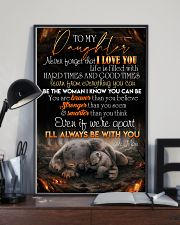 TO DAUGHTER - KOALA - BE WITH YOU 16x24 Poster lifestyle-poster-2