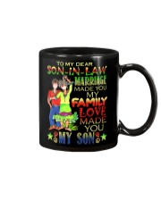 TO MY SON-IN-LAW - HIPPIE - LOVE MADE YOU MY SON Mug front