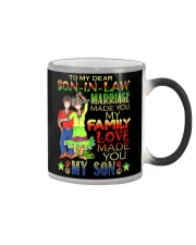 TO MY SON-IN-LAW - HIPPIE - LOVE MADE YOU MY SON Color Changing Mug thumbnail