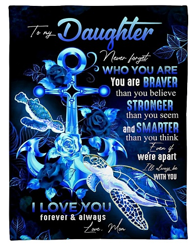 TO MY DAUGHTER - TURTLE AND ROSE - WHO YOU ARE