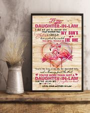 To My Daughter-in-law - Flamingo - The One  16x24 Poster lifestyle-poster-3