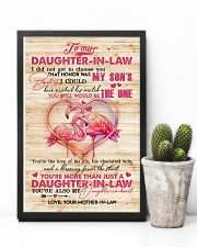 To My Daughter-in-law - Flamingo - The One  16x24 Poster lifestyle-poster-8