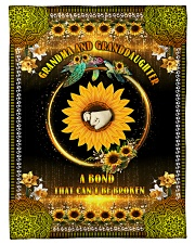 """Grandma to Granddaughter - A Bond That Can't Be  Small Fleece Blanket - 30"""" x 40"""" front"""