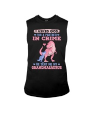 I asked God for a partner in crime Sleeveless Tee thumbnail