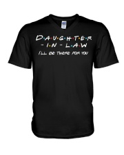 Daughter-in-law I'll be there for you V-Neck T-Shirt thumbnail