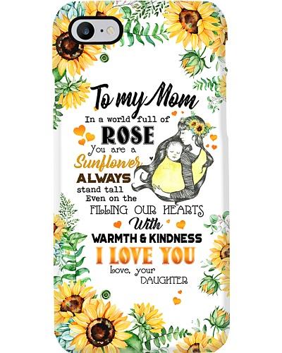 TO MY MOM - SUNFLOWER - I LOVE YOU