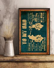 To My Dad - Motorcycle - Poster 16x24 Poster lifestyle-poster-3