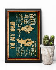 To My Dad - Motorcycle - Poster 16x24 Poster lifestyle-poster-8