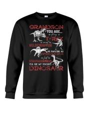 GRANDMA TO GRANDSON - DINOS - FAVORITE Crewneck Sweatshirt thumbnail