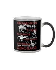 GRANDMA TO GRANDSON - DINOS - FAVORITE Color Changing Mug thumbnail