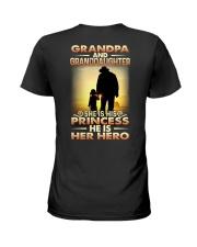 GRANDPA - HANDS - PRINCESS Ladies T-Shirt thumbnail
