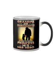 GRANDPA - HANDS - PRINCESS Color Changing Mug thumbnail