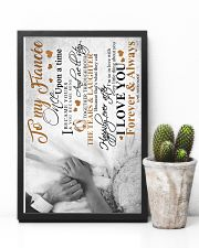 TO MY FIANCE'E 16x24 Poster lifestyle-poster-8