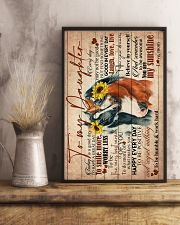 TO MY DAUGHTER - HORSE - GOODDAY 16x24 Poster lifestyle-poster-3