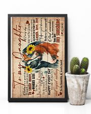 TO MY DAUGHTER - HORSE - GOODDAY 16x24 Poster lifestyle-poster-8