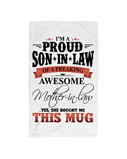 MOM TO SON IN LAW Hand Towel thumbnail