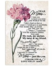 DEAR MOM 16x24 Poster front