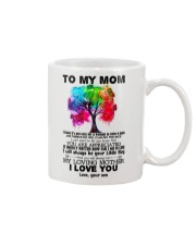 TO MY MOM - TREE - YOU ARE APPRECIATED Mug front