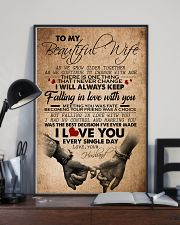 TO MY BEAUTIFUL WIFE 16x24 Poster lifestyle-poster-2