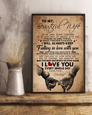 TO MY BEAUTIFUL WIFE 16x24 Poster lifestyle-poster-3