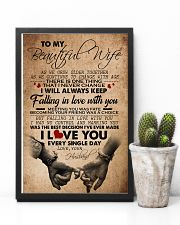 TO MY BEAUTIFUL WIFE 16x24 Poster lifestyle-poster-8